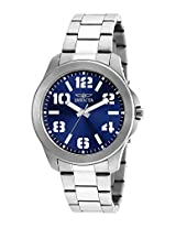 Invicta Men's 21439SYB Specialty Analog Display Quartz Silver Watch