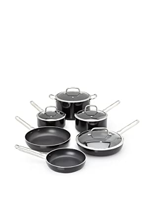 Berghoff Earthchef Boreal 10 Piece Ns Alum. Cookware Set, Black