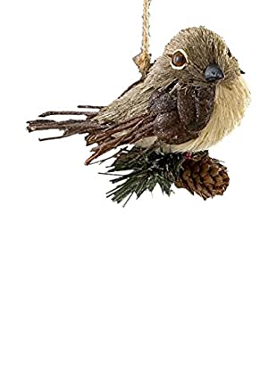 Sage & Co. Sisal Bird With Pine Ornament