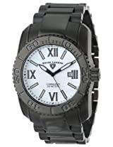 Swiss Legend Men's 10059-BB-22 Commander Collection Black Ion-Plated Stainless Steel Watch