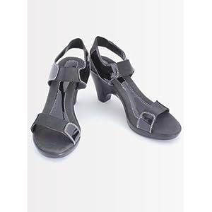 Catwalk Black Sandal 5566C