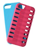 Case Logic CL5-603 Case for iPhone 5 - 1 Pack - Retail Packaging - Pink/Blue