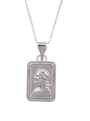 Silver One Gargantilla Cristo