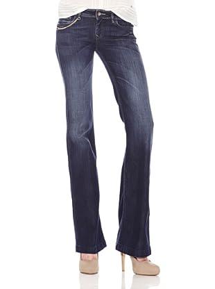 Salsa Jeans Cadena Dorada (Azul)
