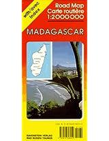 Madagascar Map (Ravenstein International Maps)