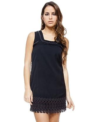 I-Code Vestido encaje (negro)
