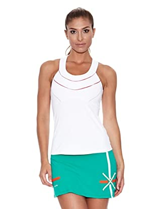 Naffta Camiseta Tirantes Nane (Blanco / Rojo)