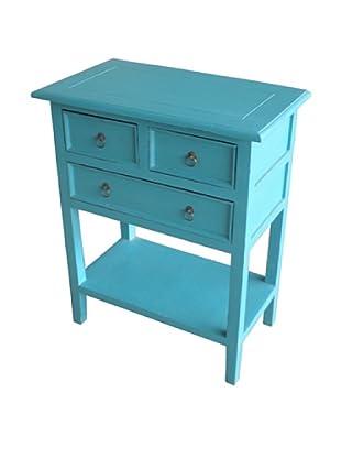 Jeffan Newton Side Table, Sky Blue