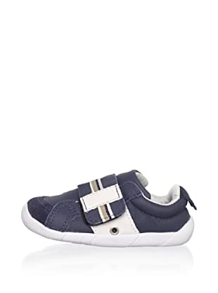 Ortopasso Kid's Hook-and-Loop Sneaker (Navy/Ice)