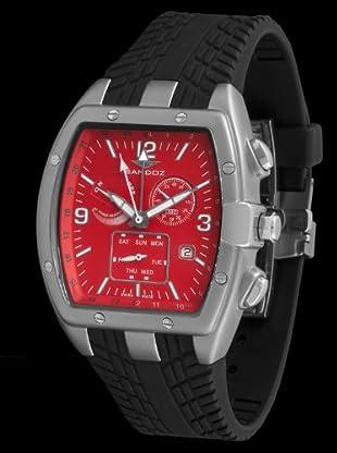 Sandoz 81257-47 - Reloj Fernando Alonso Caballero negro / rojo