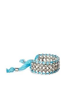 Rolf Bleu Montana Bold Adjustable Bracelet (Neon Blue)