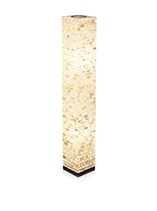 Jeffan Valentti Square Lamp, Natural