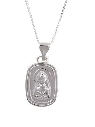 Silver One Gargantilla Virgen Cuídame