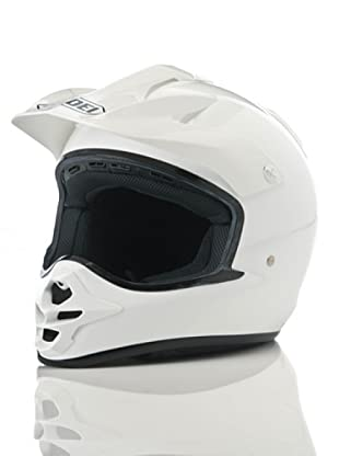 Shoei Casco V-Moto Monocolor Plain (Blanco)