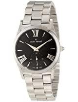 Claude Bernard Women's 23092 3 NIN Classic Ladies Black Sunray Dial Stainless Steel Watch