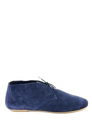 Eye Shoes Botines Cordones (Azul)