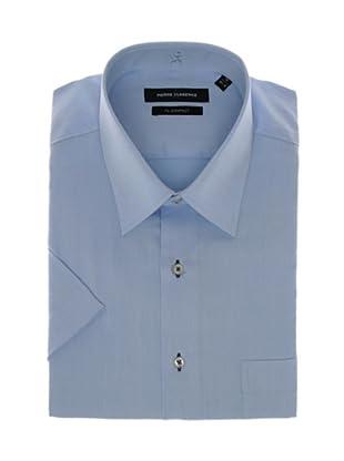 Pierre Clarence Camisa de manga corta (Azul infierno)