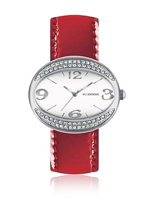 K&Bros  Reloj 9156 (Rojo)