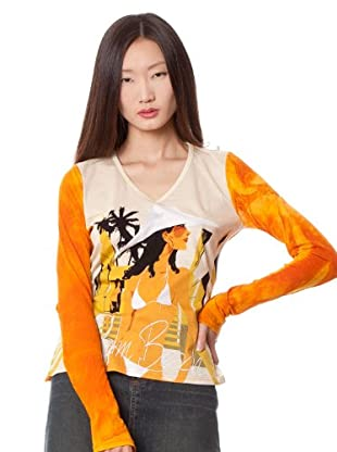 Custo Camiseta Kpis (Naranja)