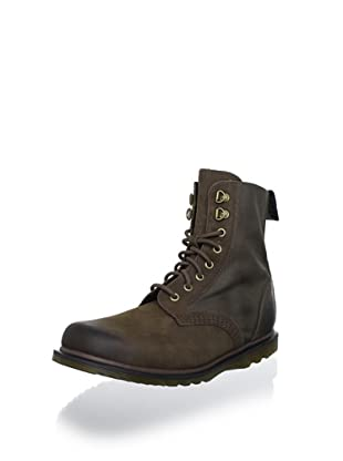Dr. Martens Men's Javon Boot (Dark Brown/Tan)
