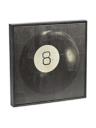 Chris Dunker for Phylum Design Billiard Ball 8, Encaustic Photograph