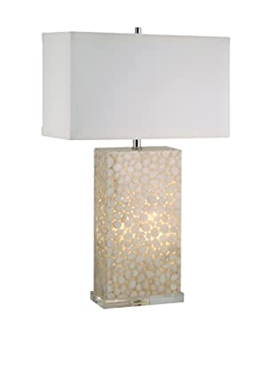 Aurora Lighting River Rock Table Lamp with Nightlight