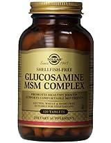 Solgar Glucosamine MSM Complex Tablets, 120 Count