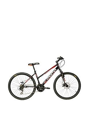 MOMA BIKES Bicicletta Btt 26 Hi-Ten Full Disc 21V Sun1.0 Nero