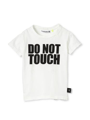 NUNUNU Kid's Do Not Touch Tee (White)