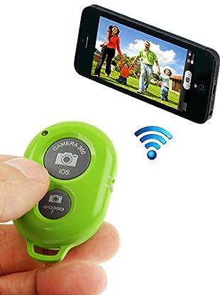 Unotec Disparador De Fotos Bluetooth Verde
