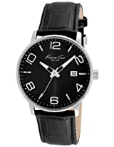 Kenneth Cole Analog Black Dial Men's Watch - IKC8005
