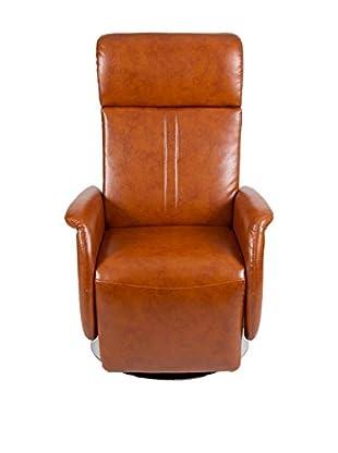 HOME DECOR Sillón Relax marrón
