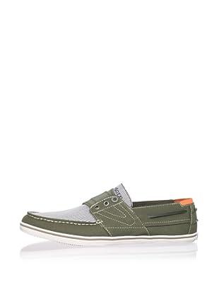Tretorn Men's Smogensson Stripes Sneaker (Burnt Olive)