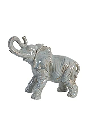 A&B Home Ceramic Elephant, Gray