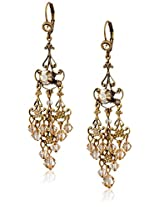 "Liz Palacios ""Arco Iris"" Swarovski Elements Empress Earrings"