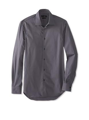 Calvin Klein Collection Men's Marianna Slim Fit Dress Shirt (Telegrey)