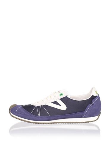 Tretorn Women's Reva Nylon Sneaker (Ombre Blue)