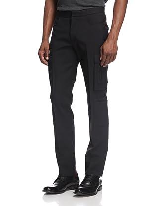 Calvin Klein Collection Men's Cargo Trouser (Black)