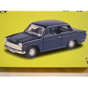 【クリックで詳細表示】Vanguards 1/43 VA07301 FORD CORTINA Mk1 Ambassador Blue