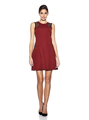 Love U Kleid Dior (Bordeaux)