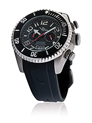 Vip Time Italy Uhr mit Japanischem Quarzuhrwerk VP5040BK_BK schwarz 50.00  mm