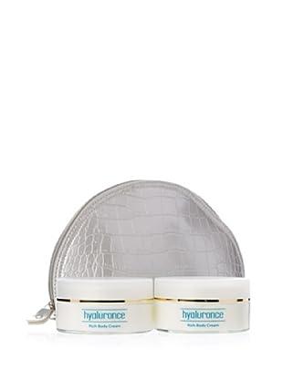 Hyaluronce Bodydream-Set: 2x Rich Body Cream à 200ml + Kulturtasche