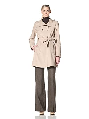 Tommy Hilfiger Women's Cora Trench Coat (Sand)