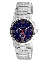 ADAMO Blue Dial Analogue Mens Watch - (AD323)