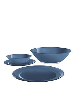 Luminarc Vajilla Redonda 19 Piezas Modelo Blue Arty