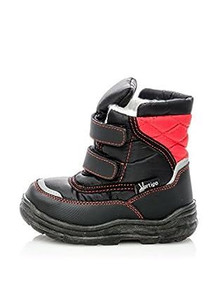 Vertigo Botas de Nieve Doom (Negro / Rojo)