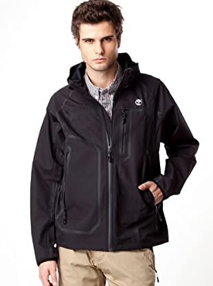 Timberland Anorack Impermeable (Negro)