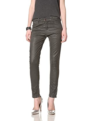 Rockstar Denim Women's Skinny Jean (Sharkskin)