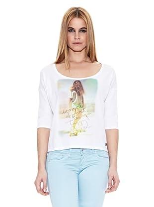 Pepe Jeans London Camiseta Turnpike (Blanco)