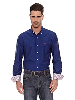 Toro Camisa Lisa Osborne (Azul Oscuro)